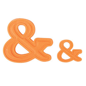 And Symbol & Cutter Set - Large and Small & Cutters - Cake Star
