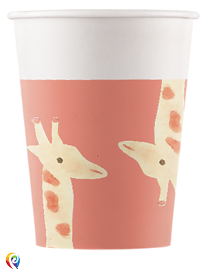 Safari Party Paper Cups - 200ml