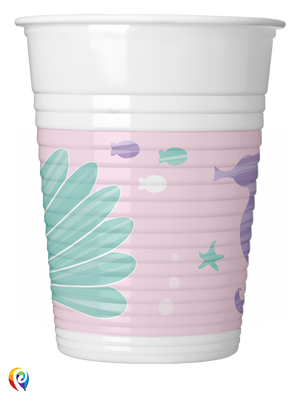 Party under the Sea Party Plastic Cups - 200ml