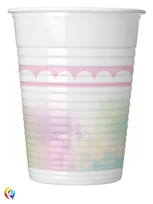 Believe in Unicorns Party Plastic Cups - 200ml