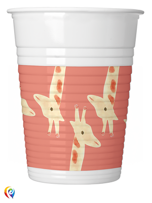 Safari Party Plastic Cups - 200ml