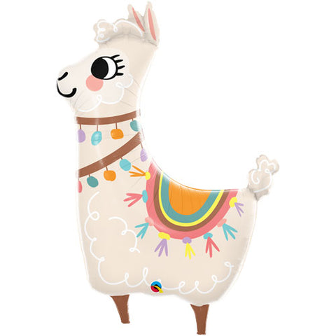 45 INCH LOVEABLE LLAMA FOIL BALLOON (1)