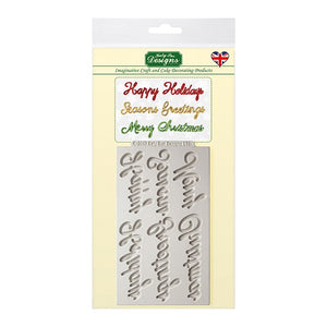 Katy Sue Mould - Word Perfect Holiday Set