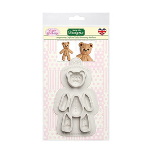 Katy Sue Sugar Buttons - Stitched Ted Mould
