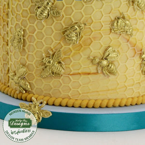 Katy Sue Honeycomb and Bee Mould