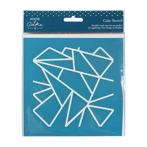 House of Cake Mesh Stencil - Geometric - 140 x 150mm