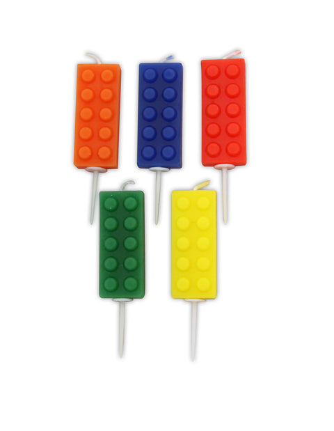 Block Party Building Block Pick Candles