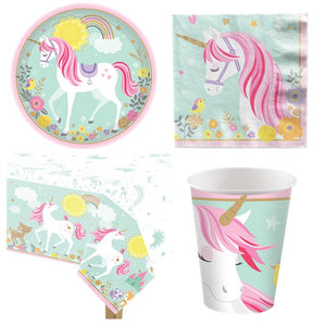 Magical Unicorn Party Pack  - 8 Guests