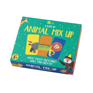Talking Tables MIXUP Animal Mix Up Game, Multicolour