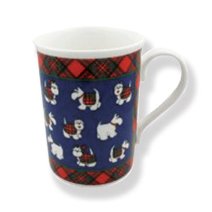 Tartan Terrier China Mug