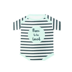 Born To Be Loved Romper Shaped Napkins