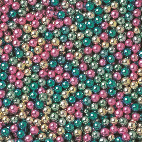 Harlequin 4mm Dragees - 100g - Cake Bling by Stef Chef