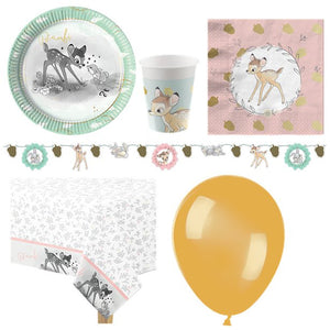 Bambi Cutie Party Pack - Deluxe Pack for 8 Guests