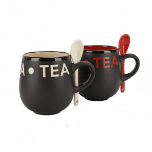 Tea' Mug & Spoon