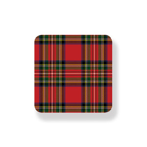Royal Stewart Coasters - Set of 6