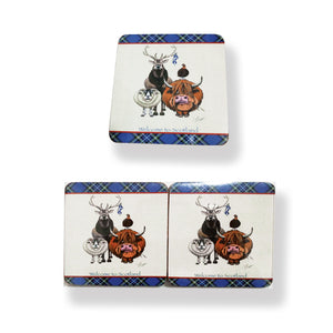 Welcome To Scotland Coasters (Set of 6)