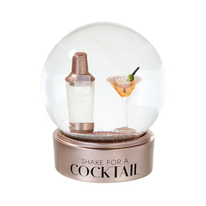 Talking Tables Cocktail Snow Globe
