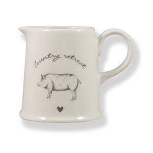 Country Retreat Creamer Jug