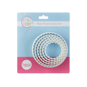 Cake Star Plain/Fluted Cutters