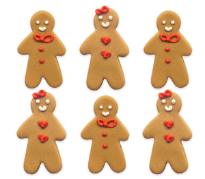 Gingerbread Friends Sugarcraft Toppers