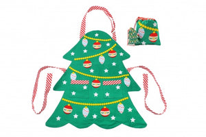 Christmas Tree Kids Apron