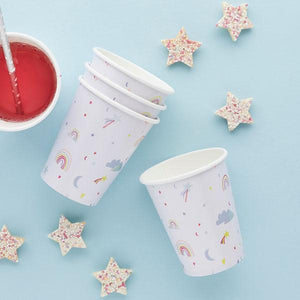 Enchanted Paper Cups by Hootyballoo