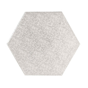 Hexagonal Cake Board - 10""