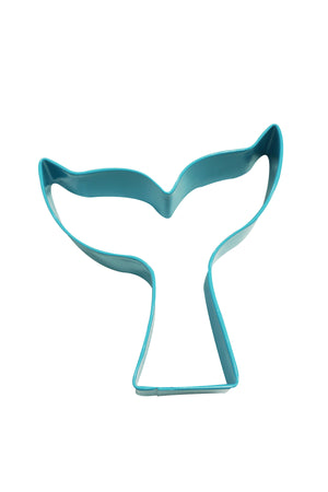 Mermaid Tail Poly-Resin Coated Cookie Cutter Blue