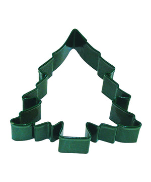 Christmas Tree Poly-Resin Coated Cookie Cutter Green