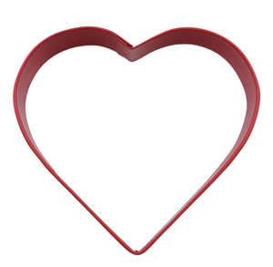 Heart Poly-Resin Coated Cookie Cutter Red