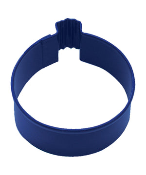 Round Bauble Poly-Resin Coated Cookie Cutter Navy