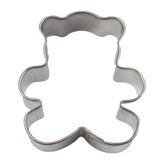 Mini Teddy Bear Cookie Cutter Tin-Plated