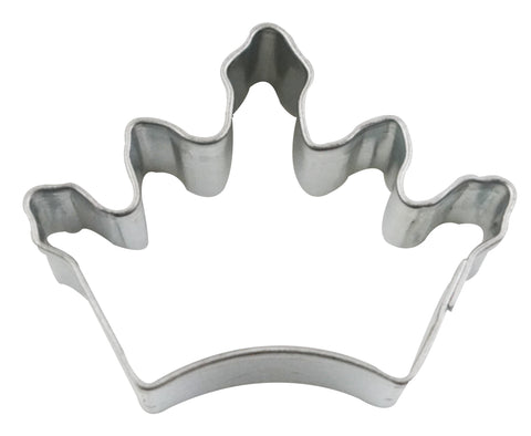 Mini Crown Cookie Cutter Tin-Plated
