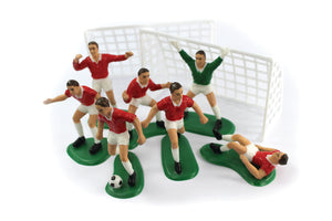 Football Cake Decoration Set Red