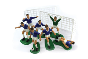 Football Cake Decoration Set Blue