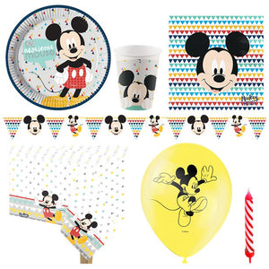 Mickey Awesome Party Pack - Deluxe Pack for 8 Guests