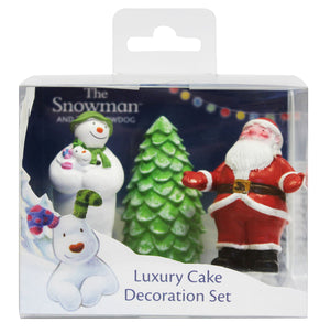 The Snowman and Snowdog Luxury Cake Decoration