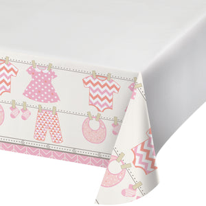 Bundle of Joy Girl Plastic Tablecover