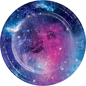 Galaxy Party Lunch Plates Sturdy Style