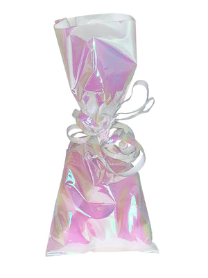 Iridescent Cello Bags with Twist Ties