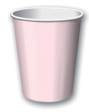 Classic Pink Paper Cups