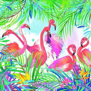 Tiflair Flamingos Lunch Napkins 3 ply