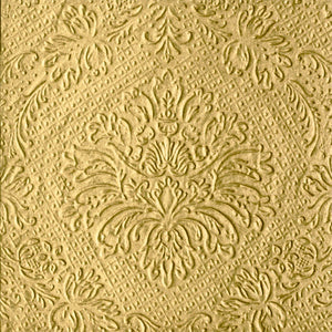 Tiflair Luxury Embossed Gold Lunch Napkins 3 ply