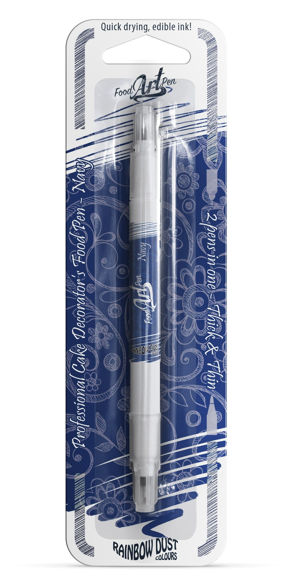 Food Art Pen - Navy Blue