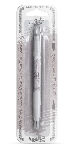 Food Art Pen - Silver Grey