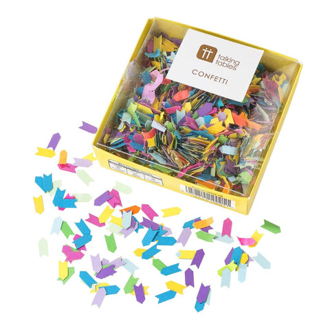 Birthday Brights Rainbow Table Scatter