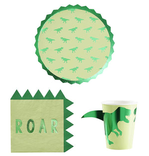 Ginger Ray ROAR Dinosaur Party Pack - 8 Guests