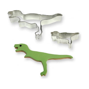PME  Dinosaur Cookie and Cake Cutters, Small and Large Sizes, Set of 2