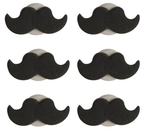 Moustache Sugarcraft Toppers
