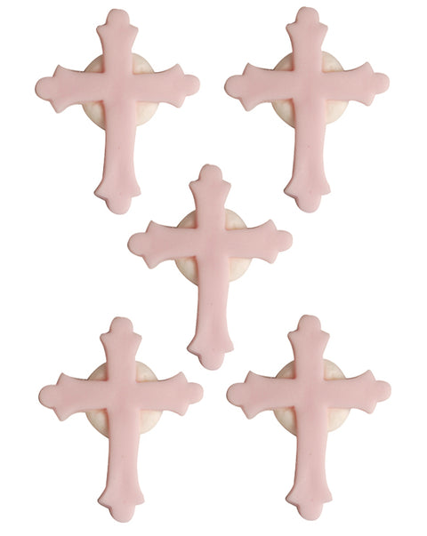 Cross Sugarcraft Toppers Pink